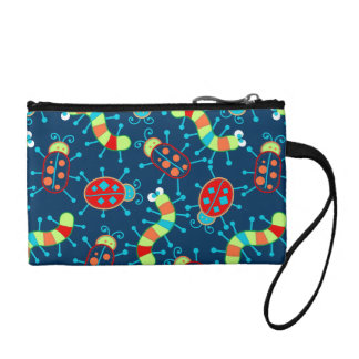 Bugs and beetles coin purse