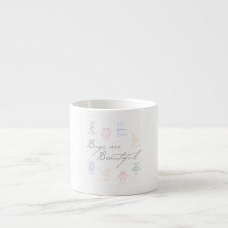 Bugs are Beautiful Espresso Cup
