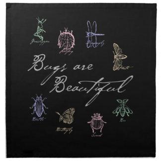 Bugs are Beautiful Napkin