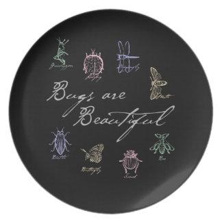 Bugs are Beautiful Plate