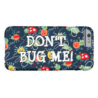 Bugs, bees and spiders barely there iPhone 6 case