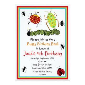 Bugs  Birthday Invitations