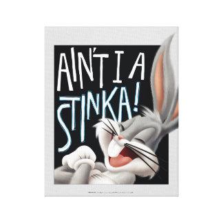 BUGS BUNNY™- Ain't I A Stinka! Canvas Print