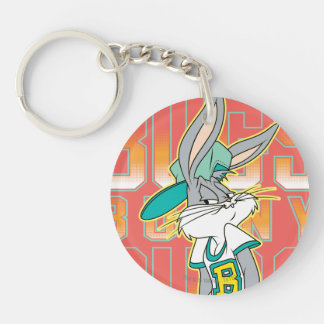 BUGS BUNNY™ Cool School Outfit Double-Sided Round Acrylic Key Ring