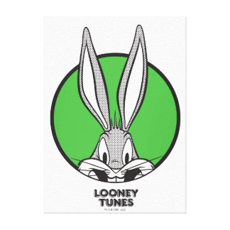 BUGS BUNNY™ Dotty Icon Canvas Print