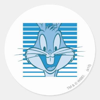 BUGS BUNNY™ Expressive 40 Classic Round Sticker