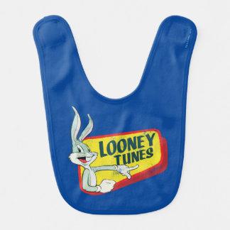 BUGS BUNNY™ LOONEY TUNES™ Retro Patch Baby Bibs