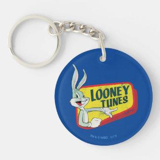 BUGS BUNNY™ LOONEY TUNES™ Retro Patch Key Ring