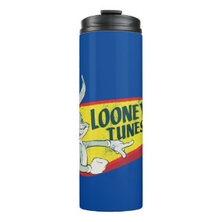 BUGS BUNNY™ LOONEY TUNES™ Retro Patch Thermal Tumbler