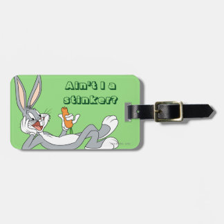 BUGS BUNNY™ Lying Down Eating Carrot Luggage Tag