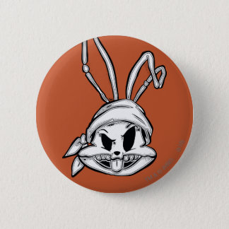 BUGS BUNNY™ Pirate 6 Cm Round Badge