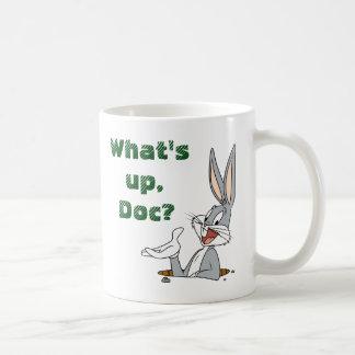BUGS BUNNY™ Rabbit Hole Basic White Mug