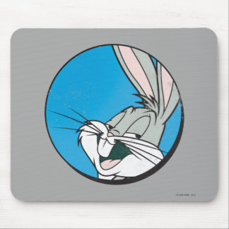 BUGS BUNNY™ Retro Blue Patch Mouse Pad