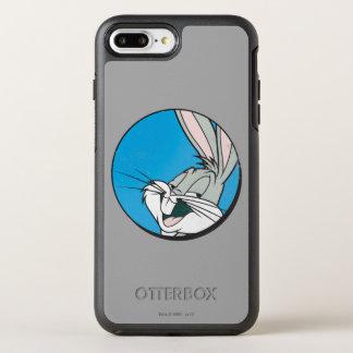 BUGS BUNNY™ Retro Blue Patch OtterBox Symmetry iPhone 8 Plus/7 Plus Case