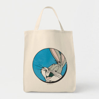 BUGS BUNNY™ Retro Blue Patch Tote Bag
