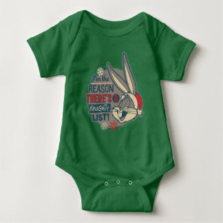 BUGS BUNNY™- The Reason There's A Naughty List Baby Bodysuit