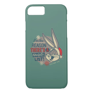 BUGS BUNNY™- The Reason There's A Naughty List iPhone 8/7 Case