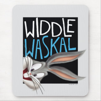 BUGS BUNNY™- Widdle Waskal Mouse Pad