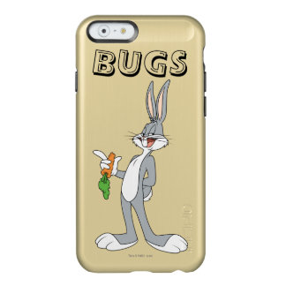 BUGS BUNNY™ With Carrot Incipio Feather® Shine iPhone 6 Case