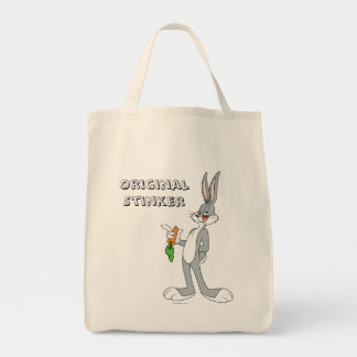 BUGS BUNNY™ With Carrot Grocery Tote Bag