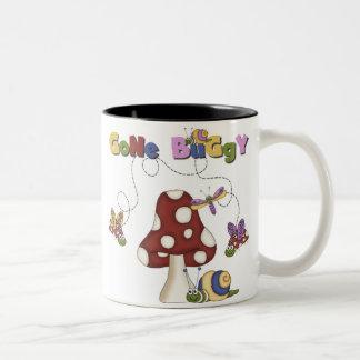 Bugs Gone Buggy Two-Tone Coffee Mug