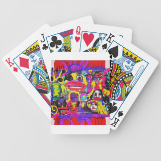 Bugs in The White House Abstract Bicycle Playing Cards