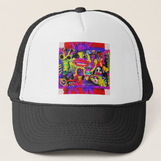 Bugs in The White House Abstract Trucker Hat