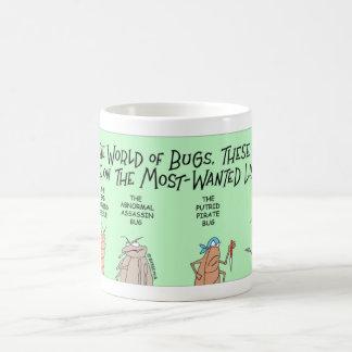 Bugs most wanted coffee mug