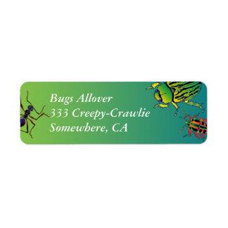 'Bugs' Return Address Label