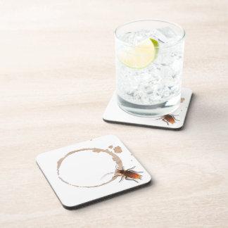 Bugzeez_Icky Sticky Roaches_coffee ring stain Coaster