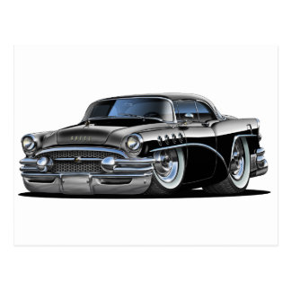 Buick Century Black Car Postcard