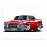 Buick Century Red Car Postcard