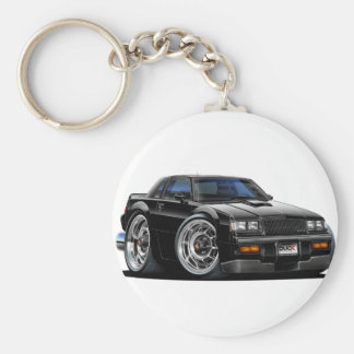 Buick Grand National Basic Round Button Key Ring