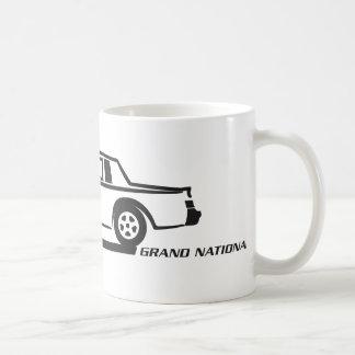 Buick Grand National Black Car Coffee Mug
