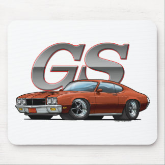 Buick GS_brown Mouse Pad