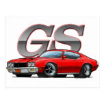 Buick GS_red Post Card