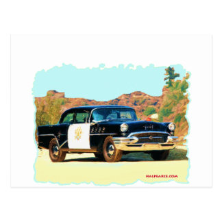 Buick Hwy Patrol Postcard