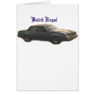 Buick:  Regal Cards