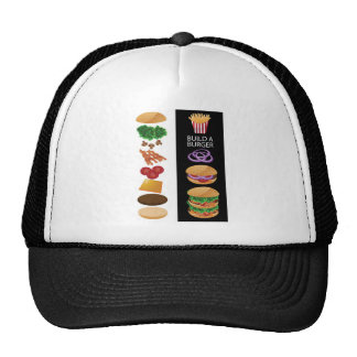 Build A Burger Cap