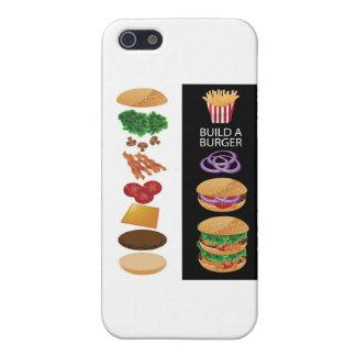 Build A Burger iPhone 5 Cases