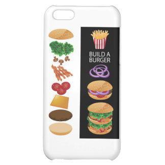 Build A Burger iPhone 5C Cover