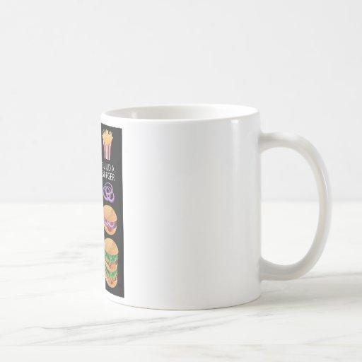 Build A Burger Coffee Mugs