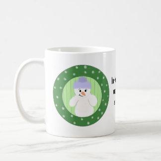 Build A Snowman Basic White Mug