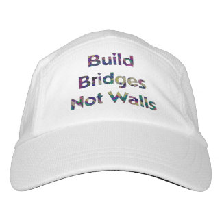 Build Bridges not Walls cap