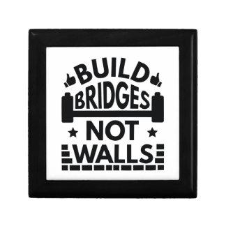 Build Bridges Not Walls Gift Box
