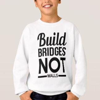 Build Bridges NOT Walls - USA Protest Immigrants Sweatshirt