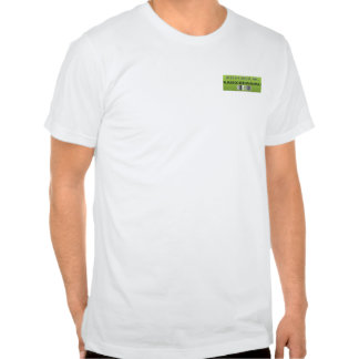 BUILD GREEN's  Mens Fitted Tee with green logo