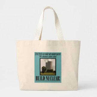 Build Nuclear Jumbo Tote Bag