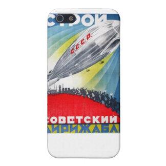 BUILD THE SOVIET DIRIGIBLE Iphone case iPhone 5 Cases