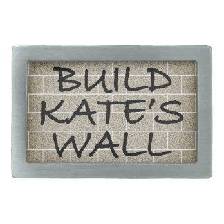 Build the Wall, Kate's Wall Belt Buckle